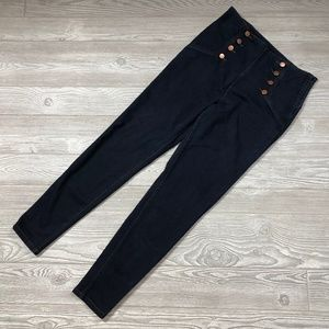 Forever 21 Button Front Skinny Jeans Women's 31 O5